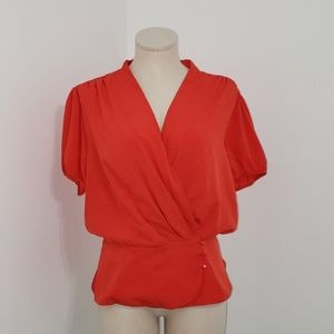Eva Mendes Fit & Flare Blouse (NWT)